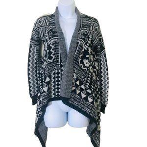 Mossimo Ikat Southwestern Print Knit Cardigan M